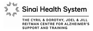 The Reitman Centre, Sinai Health System logo (The Cyril & Doroty, Joel & Jill Reitman Centre for Alzheimer's Support and Training)