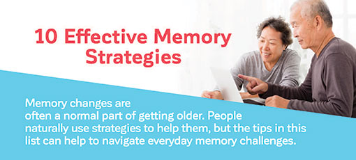 10 Effective Memory Strategies