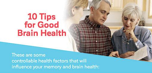 10 Tips for Good Brain Health