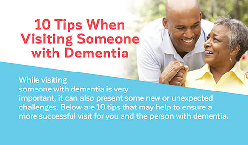 10 Tips When Visiting Someone with Dementia