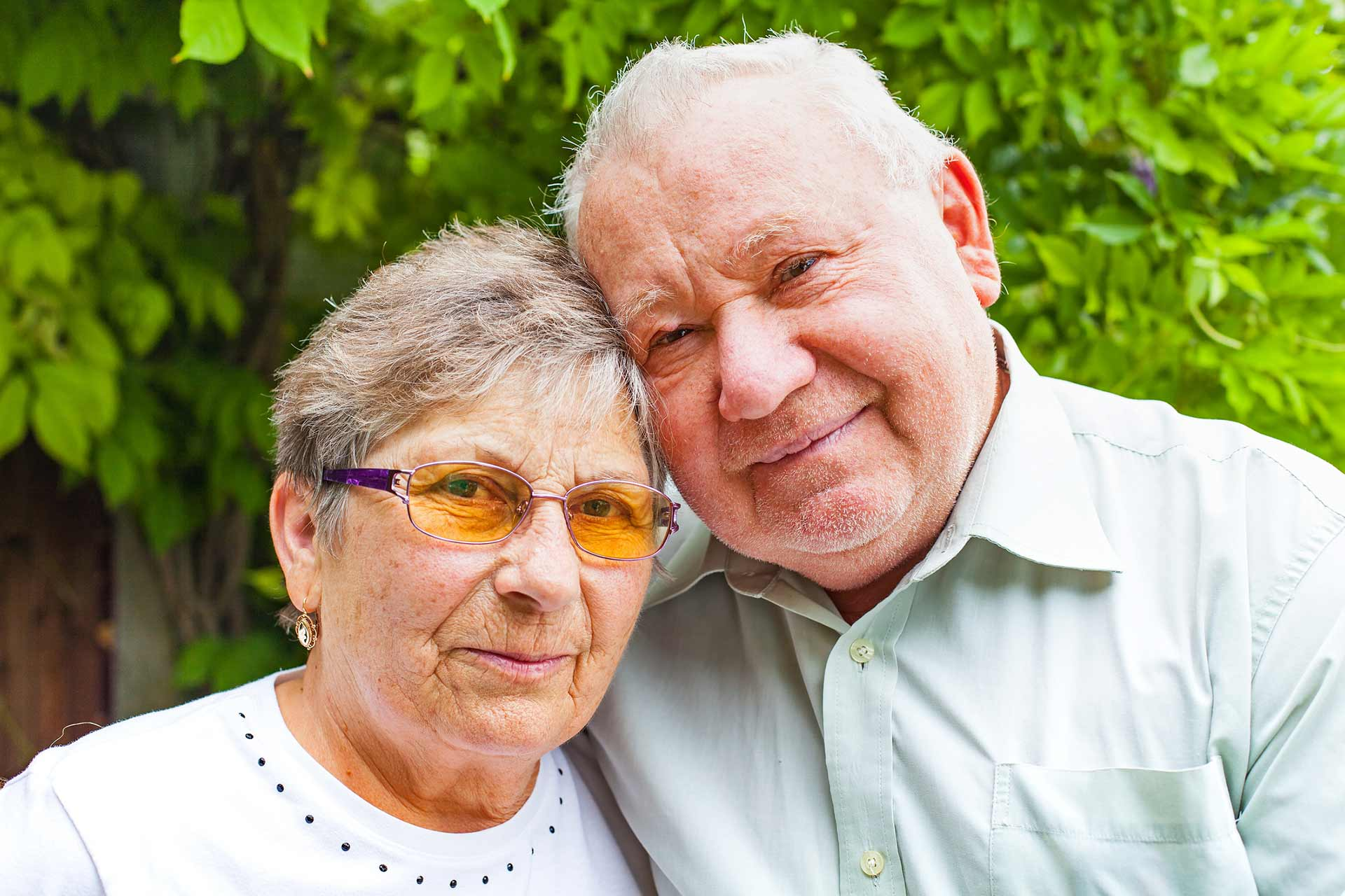Senior husband and wife, managing the impacts of dementia diagnosis together