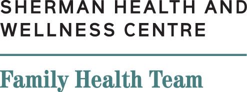 Sherman Health and Wellness Centre Logo
