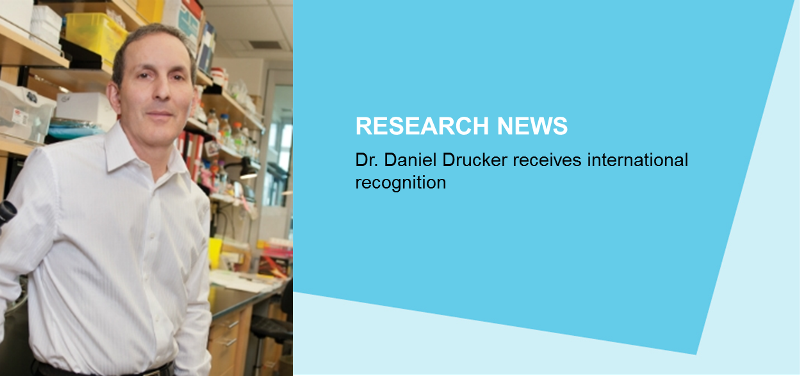 More International Prizes for Dr. Daniel Drucker