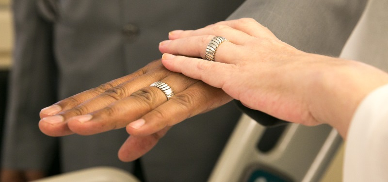 Mount Sinai Patient Weds in Ceremony on 14 North