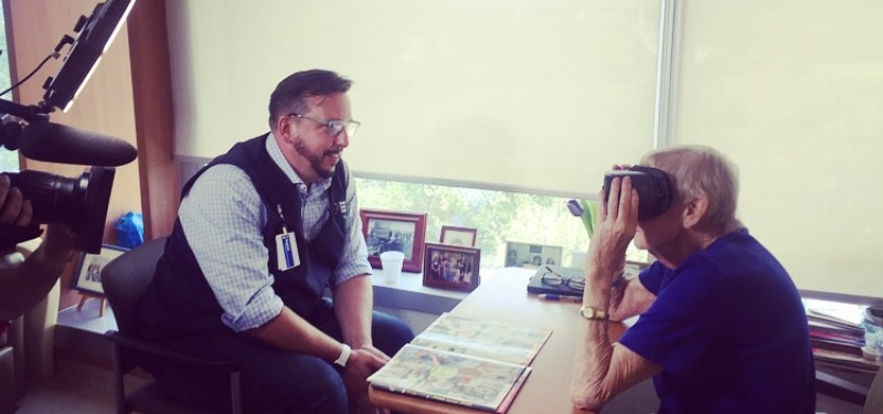 Virtual Reality – a New Way to Care for our Patients
