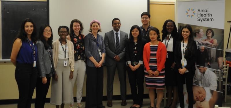 The Savlov/Schmidt Summer Scholar Program Supports the Next Generation of Elder-Friendly Health Professionals