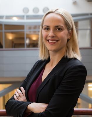 Headshot of MBA student Hilary Partner