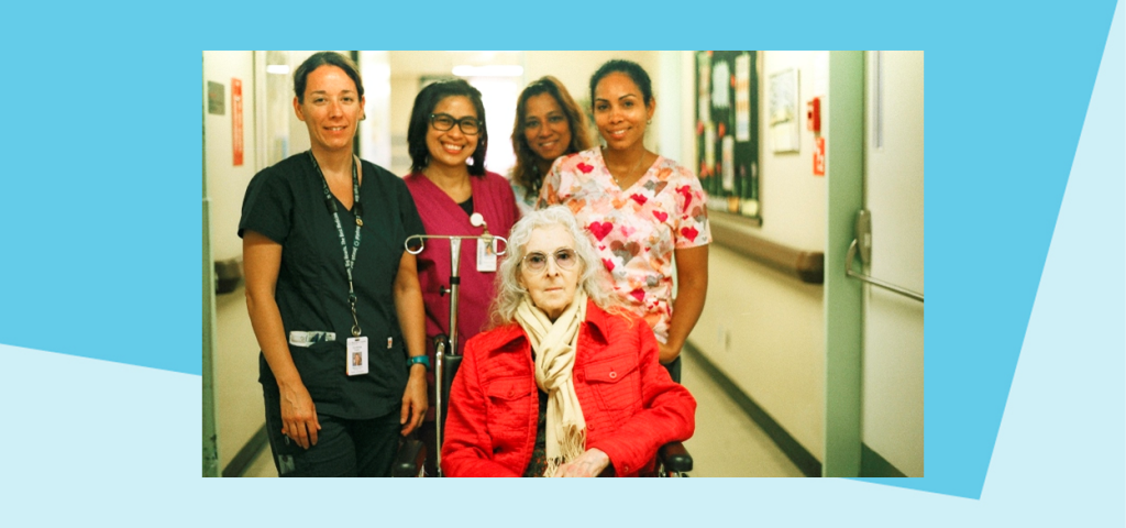 Care team plays supporting role to help hospitalized actress attend the red carpet for her TIFF premiere