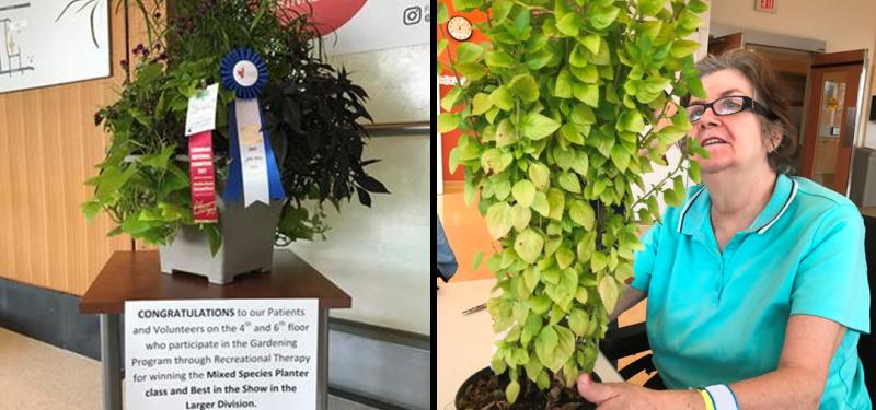 A fruitful season for Bridgepoint's gardening program