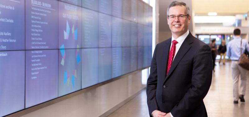 Q & A with new Sinai Health Foundation CEO Louis de Melo