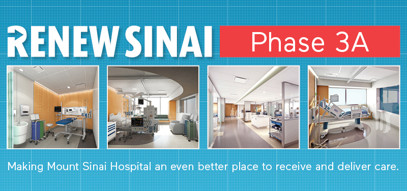 Launch of Phase 3A of Renew Sinai