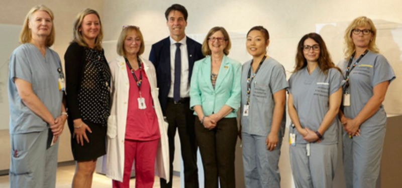 Mount Sinai Hospital hosts significant health announcement