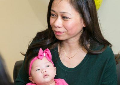 In-utero spina bifida surgery celebration