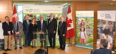 CIHR Funding announcement