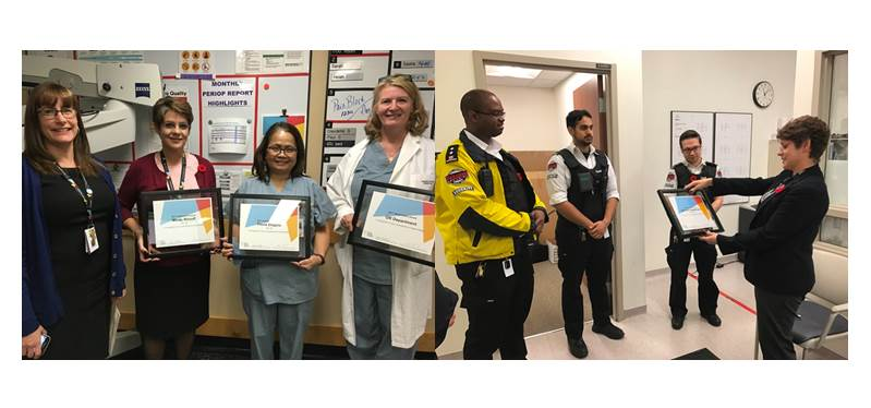 Good Catch Awards recognize staff dedication to improving safety