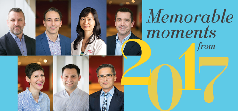 Memorable moments from 2017: New Clinical Leaders