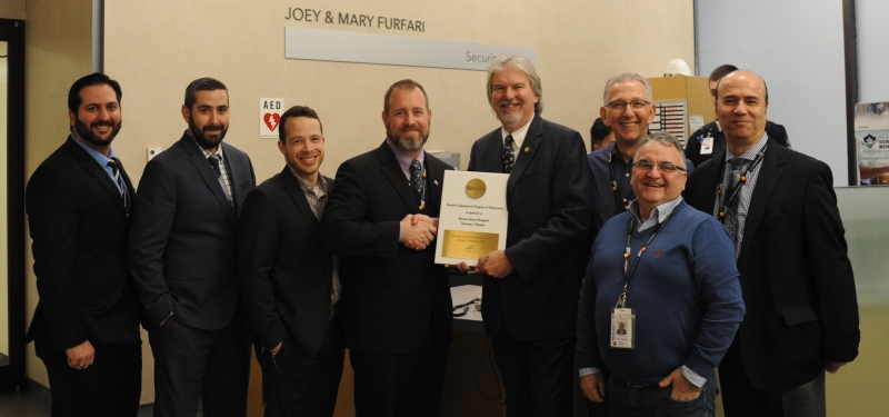 Mount Sinai's security team receives international distinction