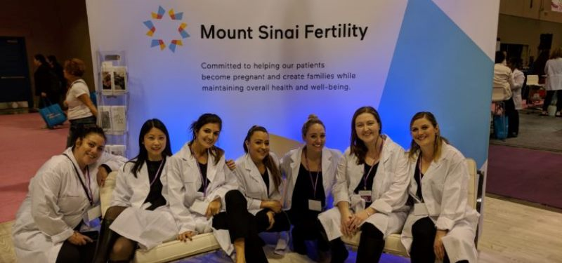 Mount Sinai Fertility experts at the National Women's Show