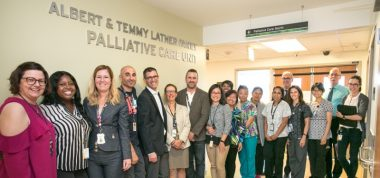 Albert & Temmy Latner Family Palliative Care Unit at Bridgepoint