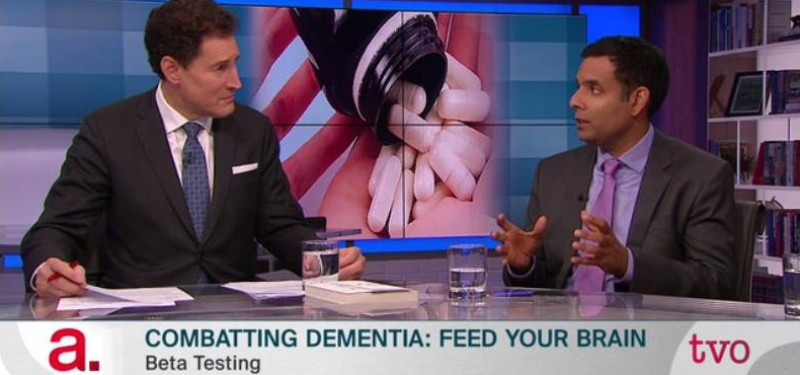 Sinai Health in the News: Dr. Samir Sinhha interviewed on TVO's The Agenda