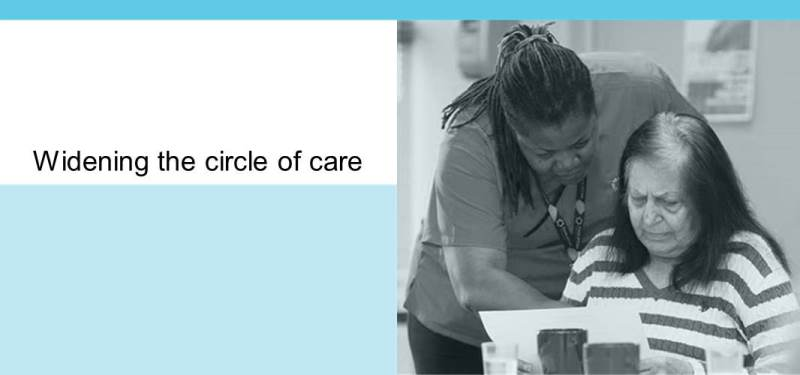Circle of Care's Adult Day Program supports individuals living with dementia and their caregivers