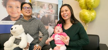 Son family, in-utero surgery to repair spina bifida for the first time in Canada