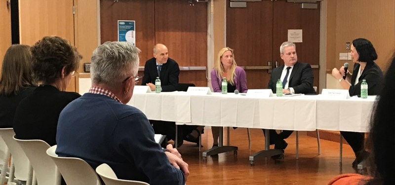 Bridgepoint hosts HQO rounds on improving palliative care in Ontario