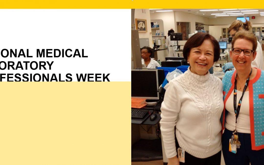 "Medical laboratory professionals are the ""cornerstone of diagnosis"""