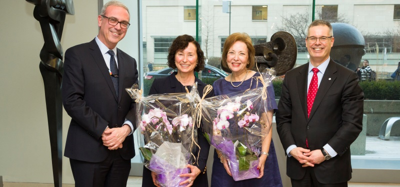 Chair in Mature Women's Health celebrates $2 million goal