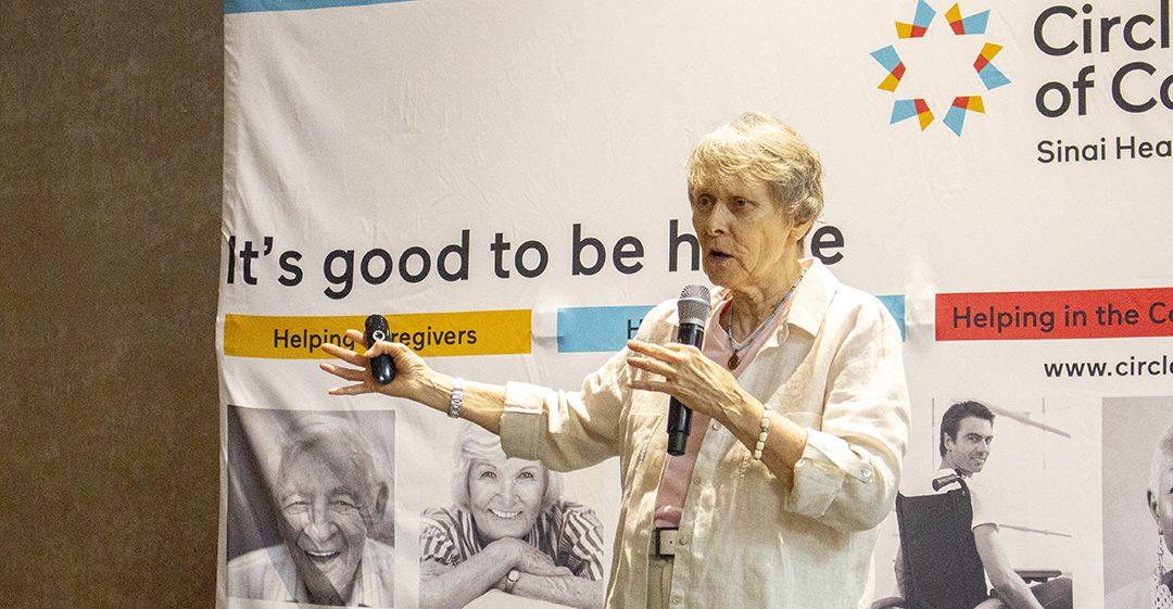 Dr. Roberta Bondar Honours, Inspires Circle of Care Volunteers
