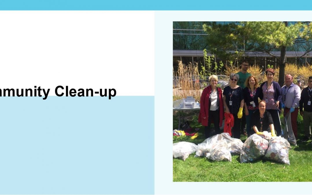 20 Minute Community Clean-up with Green Sinai Health Committee