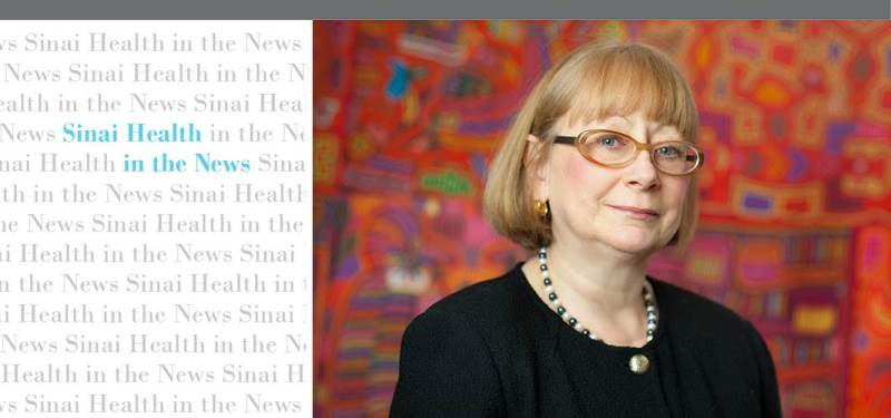 Sinai Health in the News: Dr. Pamela Goodwin discusses the link between obesity and cancer