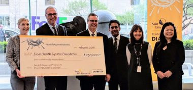 Sun Life Financial and Sinai Health System to launch innovative prevention program for women with gestational diabetes