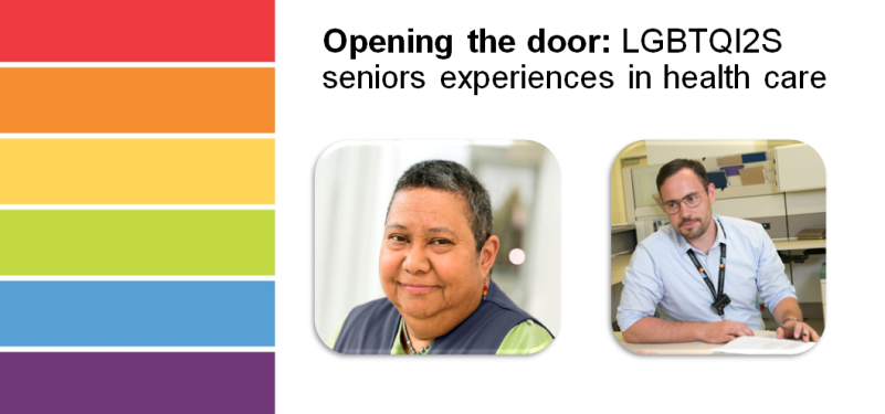 Opening the door: LGBTQI2S senior experiences in health care