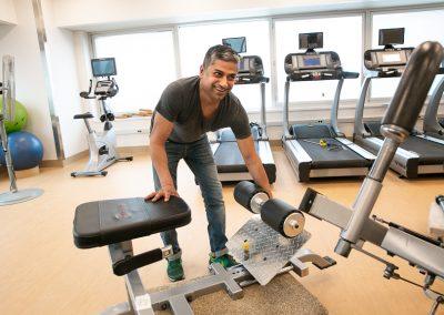 Employee Fitness Centre