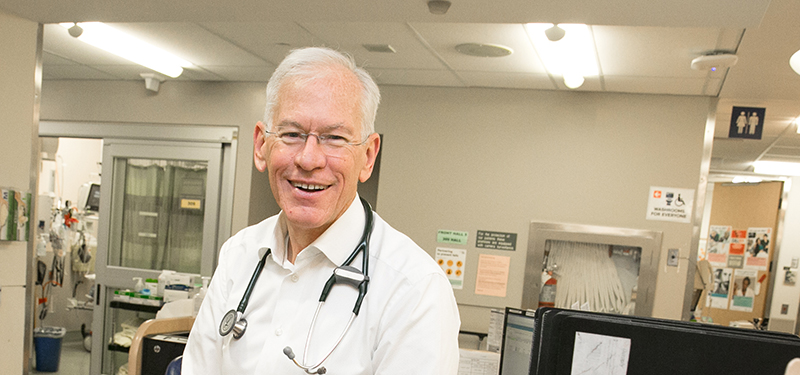 Dr. Don Melady awarded prestigious grant for his work on optimizing care for older adults in the Emergency Department