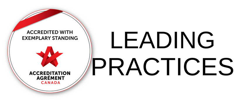 Leading Practices: Accredited with exemplary Standing