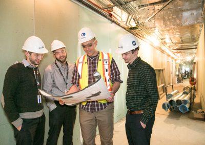 Team construction photo