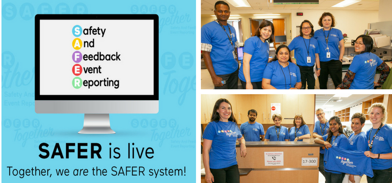 The SAFER system is live