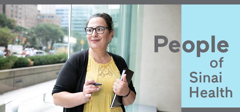 People of Sinai Health: Patricia Vavaroutsos, Admitting Clerk