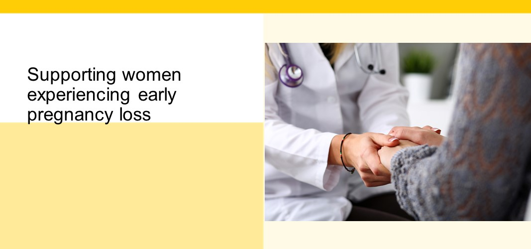 Supporting women experiencing early pregnancy loss - Sinai Health System