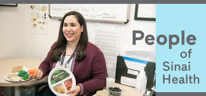 People of Sinai Health: Carmen El-Khazen, Registered Dietitian