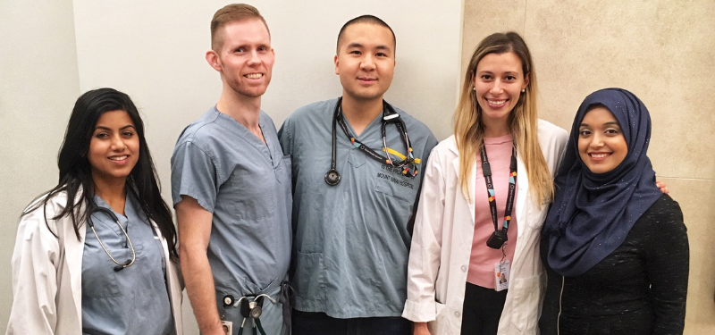 Mount Sinai recognizes Canadian National Physician Assistant Day