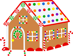 gingerbread house for United Way