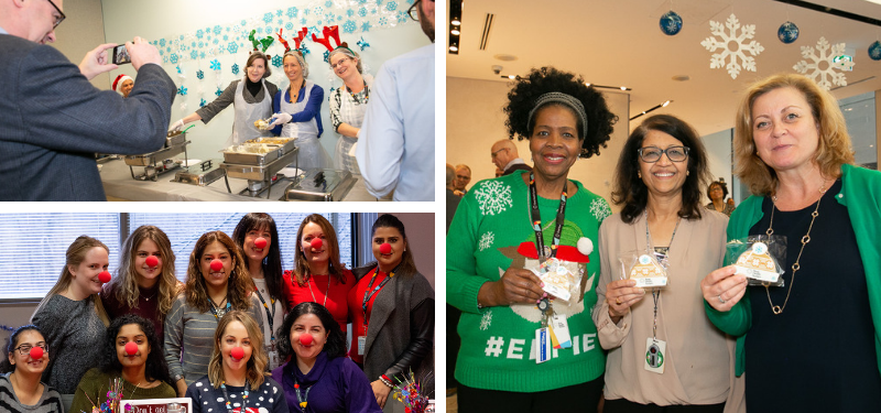Holiday Cheer at Sinai Health
