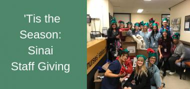 Sinai Staff Giving