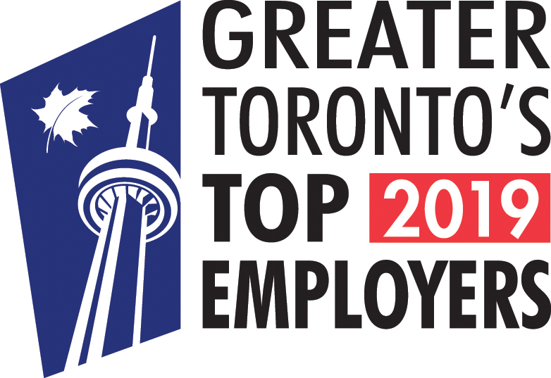 Top Employer Logo maple leaf CN Tower