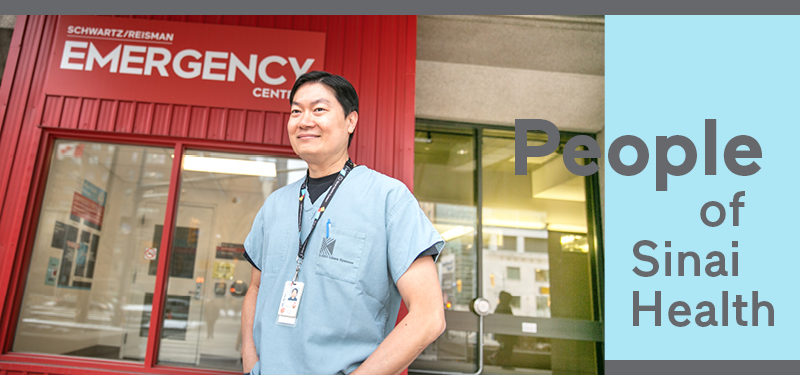 People of Sinai Health: Phen Ly, RN in Mount Sinai's Emergency Department