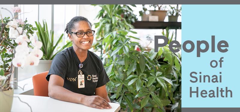 People of Sinai Health: Von-Sudan Lorde, Cleaner