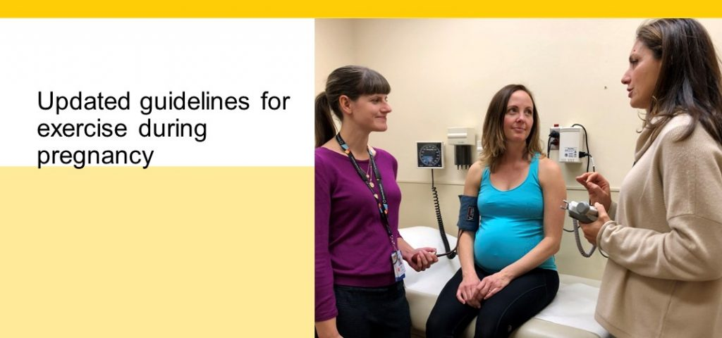 Physician at Mount Sinai helps develop new guidelines for exercise during pregnancy